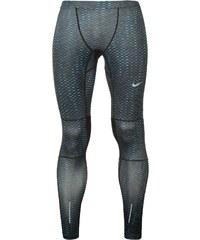 Legíny Nike Essential Graphic Training pán. černá/modrá