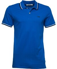 JACK AND JONES Herren New Contrast Directoire Polohemd Königsblau