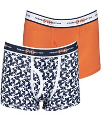 French Connection Jungen Two Pack Flame Boxershorts Orange