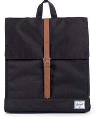 Batoh Herschel Supply City Black/Tan Synthetic Leather