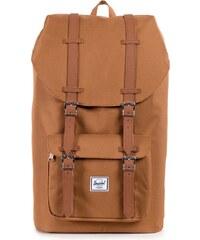Batoh Herschel Supply Little America Caramel/Tan Synthetic Leather