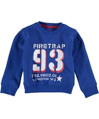 Firetrap Crew Sweater Child Boys Snorkel Blue