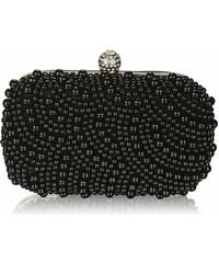 LS Černá kabelka Pearl Bag