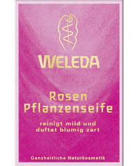 Weleda Rosen-Pflanzenseife Stückseife Pflanzen-Seifen 100 g