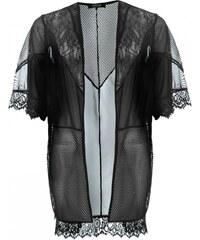 Firetrap Blackseal Mesh Kimono, black