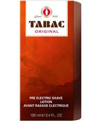 Tabac Pre Electric Shave Original 100 ml