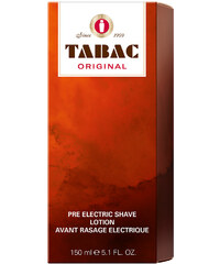 Tabac Pre Electric Shave Original 150 ml
