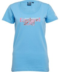 Canterbury Damen England 215 Script T-Shirt Blau