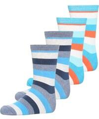 Melton 4 PACK Socken blue/turquoise/red