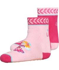 Coppenrath Verlag PRINZESSIN LILLIFEE 2 PACK Socken rosa/pink