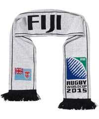 Rugby World Cup Fiji Scarf White