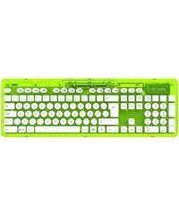 PDP PC - Zubehör »PC Wireless Tastatur Rock Candy - Grün«