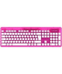 PDP PC - Zubehör »PC Wireless Tastatur Rock Candy - Pink«