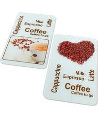 bpc living Plaques de protection Café (3 pces.) marron maison - bonprix