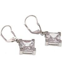 a-diamond.eu jewels s.r.o. (CZ) Náušnice stříbrné duhové čtverce sna83