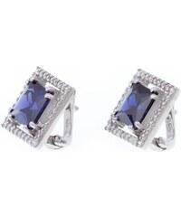 a-diamond.eu jewels s.r.o. (CZ) Náušnice stříbrné tmavě modré sna106