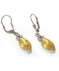 a-diamond.eu jewels s.r.o. (CZ) Náušnice stříbrné žluté sna109