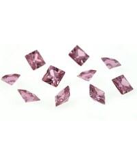 Růžové kubické zirkony dr147