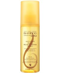Alterna BAMBOO SMOOTH Curls Anti-Frizz Re-activating Spray – stylingový sprej pro aktivaci vln 125ml