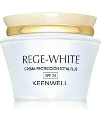 Keenwell REGE WHITE Total Plus Protection Cream SPF25 - denní pleťový krém s ochranným filtrem 50ml