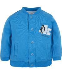 G-mini Chlapecký oboustranný kabátek Krteček a Letadlo - modrý