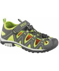 Peddy Chlapecké sandály - šedo-zelené