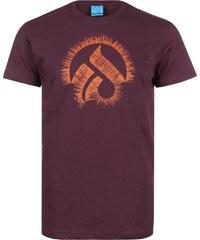 Iriedaily Laser Glyph T-Shirt maroon melange