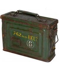Industrial style, Malý vojenský box 19x26x10cm (1005)