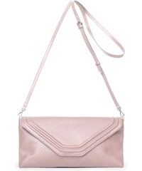 Gretchen Coral Clutch - Rose