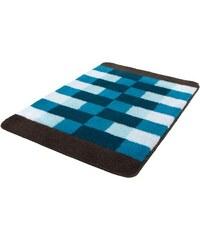 Badematte Romy Höhe 20 mm rutschhemmender Rücken MEUSCH blau 1 (50 x 60 cm),3 (60 x 90 cm),4 (70 x 120 cm)