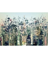Papiertapete Urban Jungle 368/254 cm KOMAR bunt
