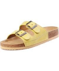 Barea Dětské žluté pantofle 010053
