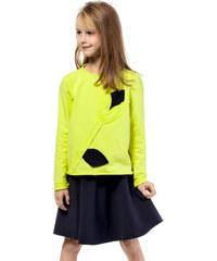 KIDIN Dětské žluté tričko KI002