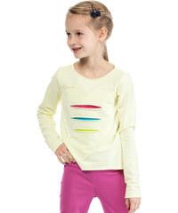 KIDIN Dětské žluté tričko KI004