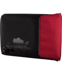 """Hama AHA URBAN Notebook obal """"Case C"""", 40 cm (15.6""""), černá/červená"""