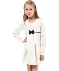 KIDIN Dětské smetanové šaty KI014