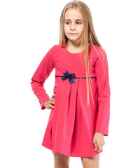KIDIN Dětské růžové šaty KI014