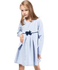 KIDIN Dětské světle modré šaty KI014
