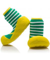 Dětské zelené boty Attipas Ringle
