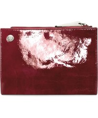 Gretchen Calla Purse - Burgundy Red Patent
