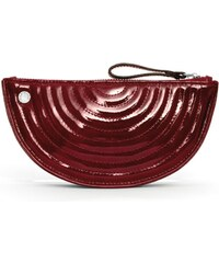 Gretchen Melo Quilted Purse - Burgundy Red Patent