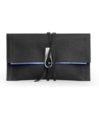 Gretchen Opal Loop Clutch - Piano Black Blue