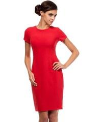 Moe Dámské šaty MOE186_red