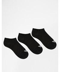 Adidas Originals - S20274 - Lot de 3 paires de socquettes de sport - Noir - Noir
