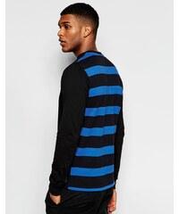Rascals - Langärmliges Shirt mit Streifenmuster auf der Rückseite - Schwarz