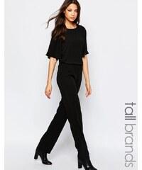 Vero Moda Tall - Combinaison à manches ange - Noir
