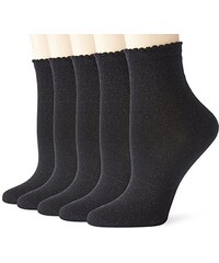 PIECES Damen Socken Pcsebby Glitter Long 5 Pack Socks