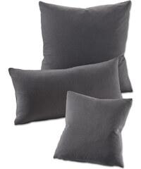 bpc living Housses de coussin Jersey (lot de 2) gris maison - bonprix