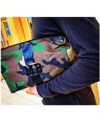 Mia Bag Kosmetická Army taška (unisex) - černý pás