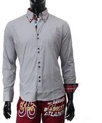 CARISMA košile pánská H-110 dlouhý rukáv slim fit